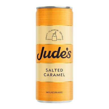 Jude's Salted Caramel Milkshake 250ml