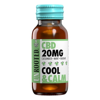 Unrooted CBD 20mg Drink Cool & Calm 60ml