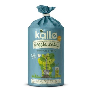 Kallo Spinach and Pesto Veggie Cakes 122g