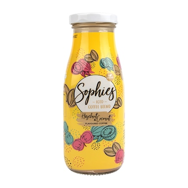 Sophies Iced Coffee Blend Hazelnut and Coconut Flavoured Coffee 280ml