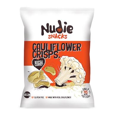 Nudie Snacks Cauliflower Crisps Katsu Curry 22g