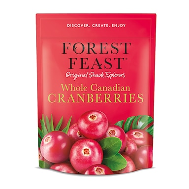 Forest Feast Whole Canadian Dried Cranberries 170g