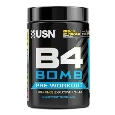 USN B4 Bomb Pre-Workout Blue Raspberry 300g