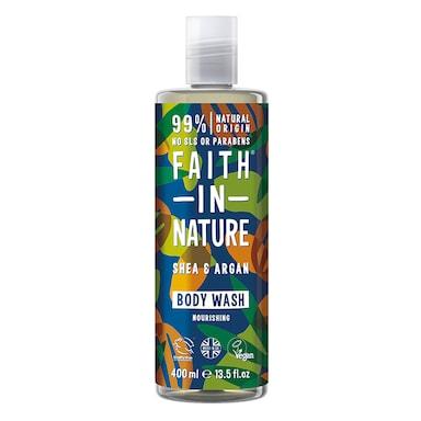 Faith in Nature Shea & Argan Body Wash 400ml