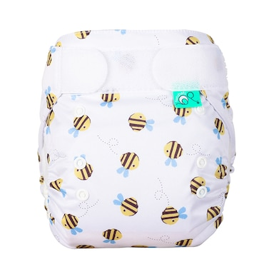 TotsBots Easyfit Star All In One Reusable Nappy - Buzzy Bee