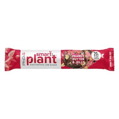 PhD Smart Bar Plant Peanut Butter & Jelly 64g