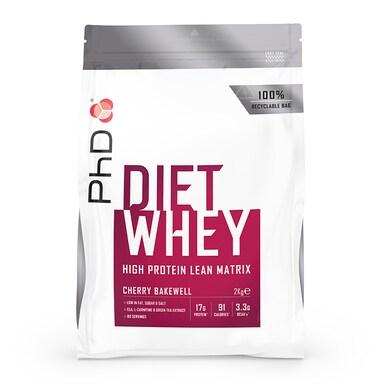 PhD Nutrition Diet Whey Protein Powder Cherry Bakewell 2000g
