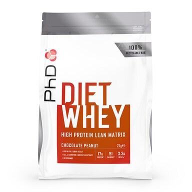 PhD Diet Whey Powder Chocolate Peanut 2000g