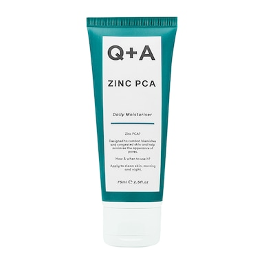 Q+A Zinc PCA Daily Moisturiser 75ml