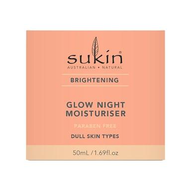 Sukin Brightening Night Glow Moisturiser 50ml