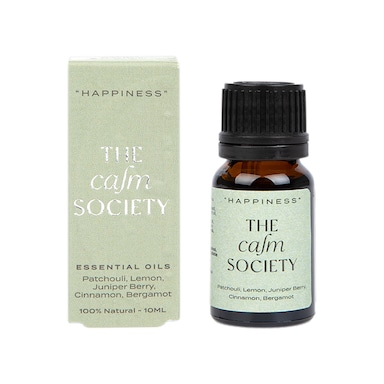 The Calm Society Happiness Essential Oil 10ml