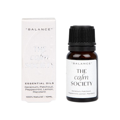 The Calm Society Balance Essential Oil 10ml