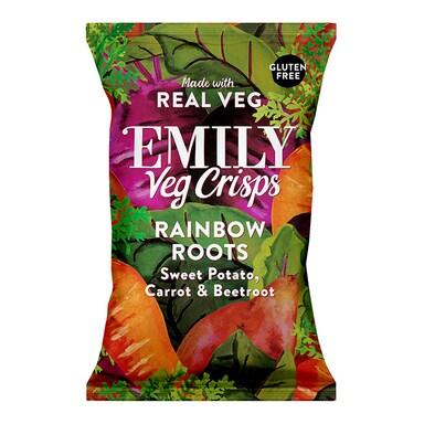 Emily Veg Crisps Rainbow Roots 100g