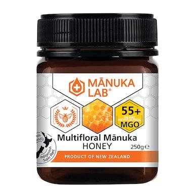 Manuka Lab Multifloral Manuka Honey 55 MGO 250g