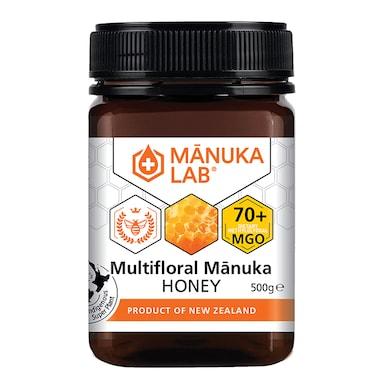 Manuka Lab Multifloral Manuka Honey 70 MGO 500g