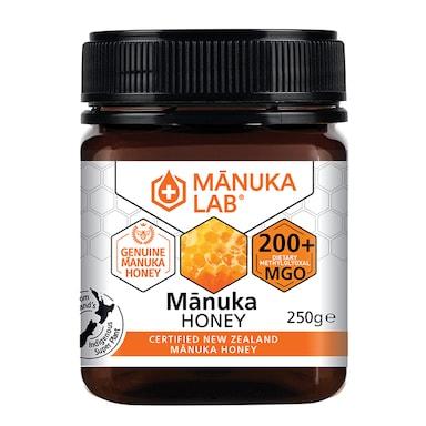 Manuka Lab Monofloral Manuka Honey 200 MGO 250g