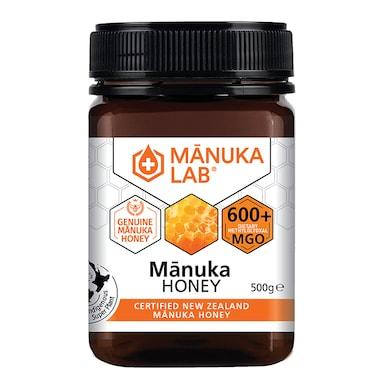 Manuka Lab Monofloral Manuka Honey 600 MGO 500g