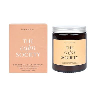 The Calm Society Energy Candle 200g