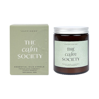 The Calm Society Happiness Candle 200g