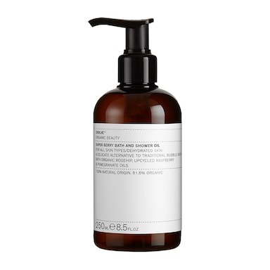 Evolve Beauty Super Berry Bath and Shower Oil 250ml