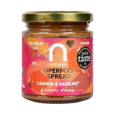 Naturya Cashew & Hazelnut Smooth Spread 170g