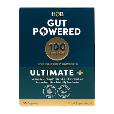 Holland & Barrett Gut Powered 100 Billion 30 Capsules