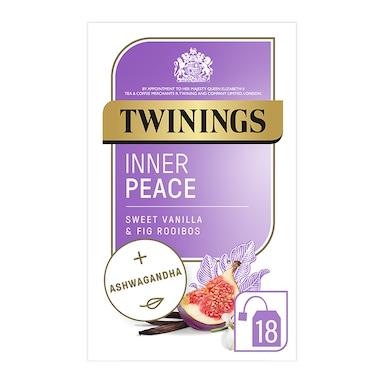 Twinings Adaptogens Inner Peace with Fig, Vanilla Flavoured Rooibos & Ashwaganda 18 Tea Bags
