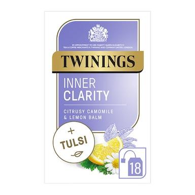 Twinings Adaptogens Inner Clarity with Lemon, Chamomile & Tulsi 18 Tea Bags