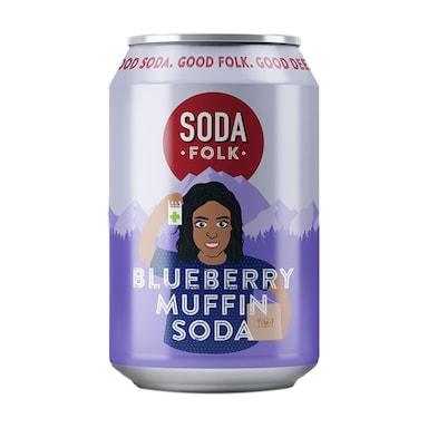 Soda Folk Blueberry Muffin Soda 330ml