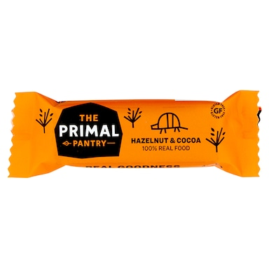 The Primal Pantry Hazelnut & Cocoa Bar 45g