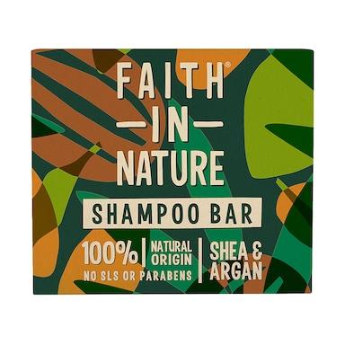 Faith in Nature Shea & Argan Shampoo Bar 85g
