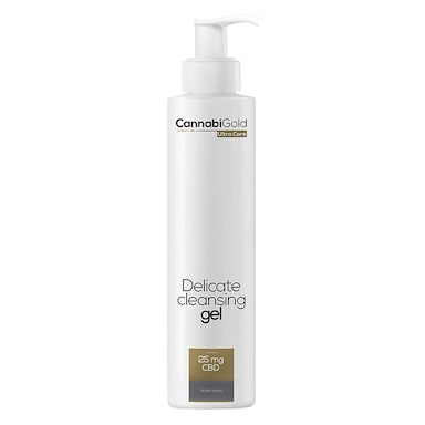CannabiGold Ultra Care Delicate Cleansing Gel 200ml