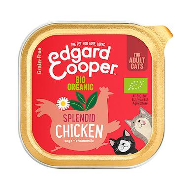 Edgard & Cooper Organic Chicken Cat Wet Adult Cup 85g