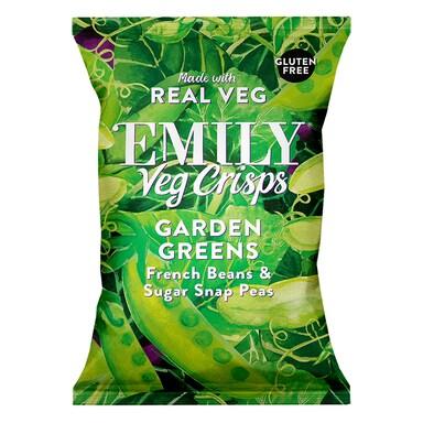 Emily Veg Crisps Garden Green 80g