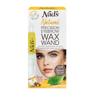 Nad's Natural Precision Eyebrow Wax Wand 6g