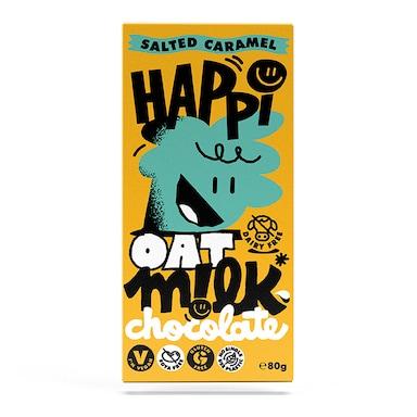 Happi Salted Caramel Oat M!lk Chocolate Bar 80g