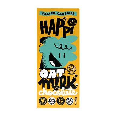 Happi Salted Caramel Oat Milk Chocolate Bar 40g