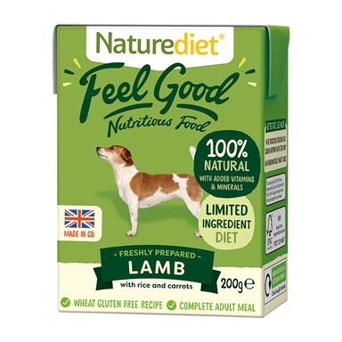 Naturediet Feel Good Lamb 200g