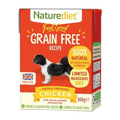 Naturediet Feel Good Grain Free Chicken 200g