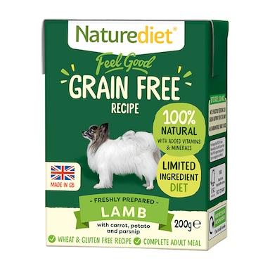 Naturediet Feel Good Grain Free Lamb 200g