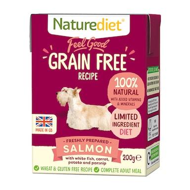 Naturediet Feel Good Grain Free Salmon 200g