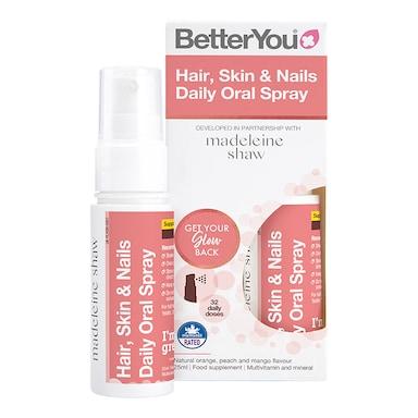 BetterYou Hair, Skin & Nails Daily Oral Spray 25ml