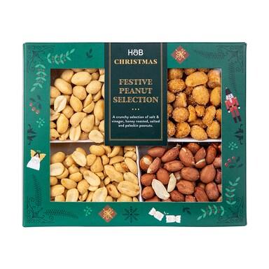 Holland & Barrett Festive Peanut Selection 340g