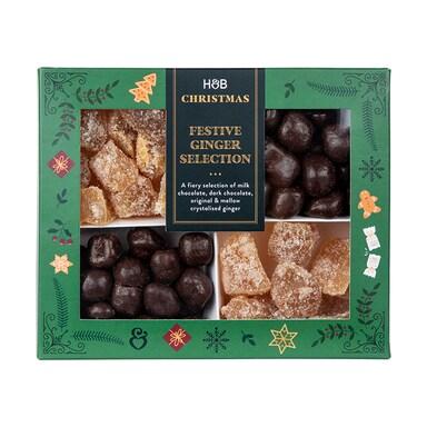 Holland & Barrett Festive Ginger Selection 470g