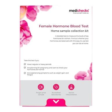 Medichecks Female Hormone Blood Test