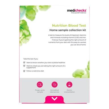 Medichecks Nutrition Blood Test