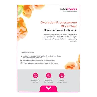 Medichecks Ovulation Progesterone Blood Test