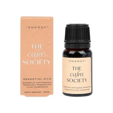 The Calm Society Energy Essential Oil 10ml
