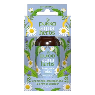 Pukka Chamomile Relax Aqua Herbs Organic 30ml