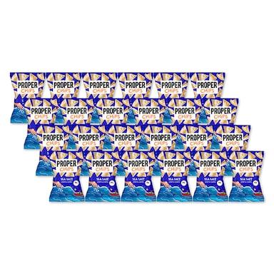 Properchips Sea Salt Lentil Chips Full Box 24 x 20g